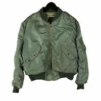 Early Blue Anchor Overall US Air Force L-2B Flight Jacket Large
