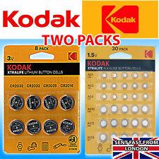 KODAK Batteries 38 XTRALIFE Button cells CR2032 CR2025 CR2016 AG1 AG3 AG4 MIXED