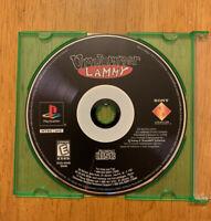 UnJammer Lammy Playstation PS1 Original Black Label Game Disc Only
