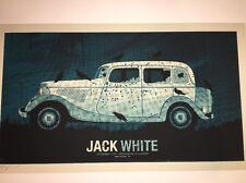 Jack White Poster Print Birmingham III Methane  2012 White Stripes