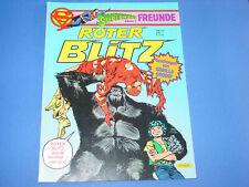 Supermans Freunde : Roter Blitz, Nr. 5 , von 1984 - 85, alt, selten !