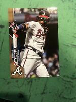 2020 TOPPS SERIES 1 GOLD PARALLEL SP RONALD ACUNA JR BRAVES /2020 RARE # 150