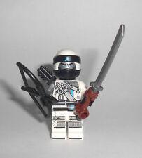LEGO Ninjago - Zane (70652) - Minifig Figur Ninja weiss Blitzdrache Hunted 70652