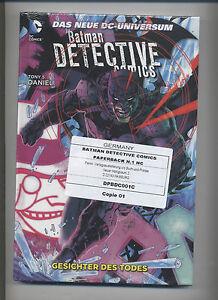 BATMAN DETECTIVE COMICS PAPERBACK HC # 1+2+3+4+5+6+7+8+9 -NEUE DC-UNIVERSUM  OVP