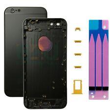 For Apple iPhone 6 Plus Housing Frame Metal Back Cover - Matte Black / Gold