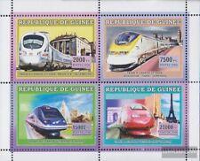 Guinée 4393-4396 Feuille miniature neuf avec gomme originale 2006 transports: fe