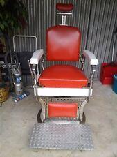 Vintage Antique Koken Barber Chair