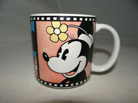 Vintage Mickey Minnie Mouse Coffee Mug Cup Filmstrip Movie Clip Made in Japan