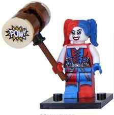 Harley Quinn hammer custom minifigure Fits Lego - TRUSTED UK SELLER