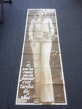 ► AFFICHE/POSTER GRANDEUR NATURE - SHEILA - 180CMX58CM - 1977 - TBE