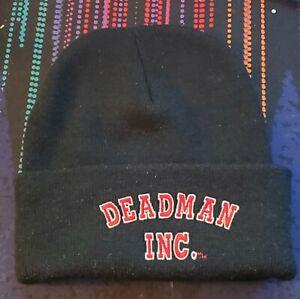 2001 WWF Undertaker DEADMAN INC. Stocking Hat Beanie