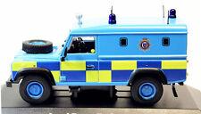 1/43 Die-Cast Model Atlas Land Rover Defender Sussex England Police Car British