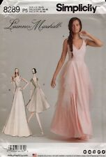Simplicity Sewing Pattern 8289 Misses Leanne Marshall Dress Size 4-12