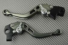 levier leviers levers court short CNC titanium Triumph SPEED TRIPLE 1050	2004-07