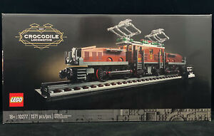 LEGO 10277 Crocodile Locomotive New Sealed! Ready to Ship! 1271pcs 18+