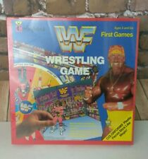 Rare Sealed 1991 WF Wrestling Game Colorforms Official Ages 3+ Collectible