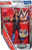 Mattel WWE Elite Collection AJ Styles Wrestling Action Figure Toy