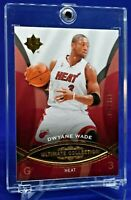 DWYANE WADE UPPER DECK ULTIMATE COLLECTION GOLD /499 RARE SP MIAMI HEAT LEGEND