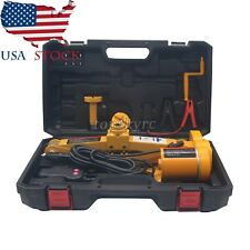 2.5 Ton 12V Automotive Electric Scissor Car Jack Lift Van Garage 125mm-420mm USA