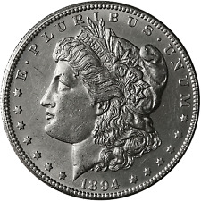 1894-S Morgan Silver Dollar BU