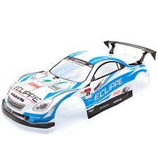 RCG Racing Lexus SC Racing 1/10th RC Car Body Shell Blue 190mm S003B