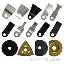 14pc Oscillating Tool Accessory Variety Kit - Ryobi Job Plus Compatible