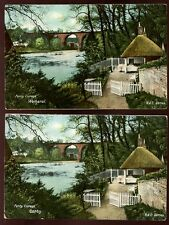 Cumbria Wetheral & Corby same PPC CARLISLE Ferry Cottage 1904 PPC x2