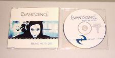 Single CD Evanescence-apporte-Me to Life 3. tracks 2003 très bien MCD E 18