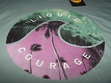 Life is Good LIQUID COURAGE Newbury S/S Shirt WASHED BLUE Men's XL ~ NWT