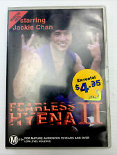 Fearless Hyena II Jackie Chan DVD PAL R4 M15+