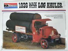 Vintage Monogram 1926 Mack Bull Dog Log Hauler 1:24 Model Truck Kit #2401