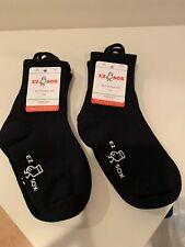 New listing Ez Sox Kids (Age 5-9 yrs) Socks Black 4 pairs