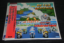 Pony Laser Vision Sega laser disc After Burner  / Super Hang On Pony Canyon RARE