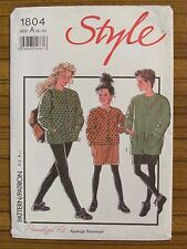 STYLE PATTERN - 1804 GIRLS JACKET CARDIGAN SKIRT SKI PANTS STIRRUP 6 - 14 UNCUT