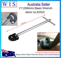 """11""""(280mm) Multi Purpose Adjustable Basin Wrench Plumbing Faucet Nuts Install"""