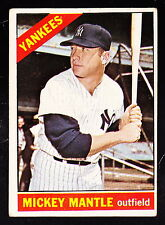 1966 TOPPS #50 MICKEY MANTLE YANKEES