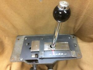 1962,1963,1964 Ford Galaxie 500 console mounted shifter, automatic transmission