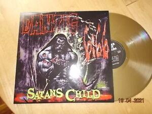 LP DANZIG - Satans Child Gold Vinyl + Poster
