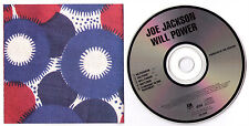 Joe Jackson Will Power CD early made in Japan smooth case instrumental classical