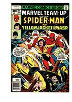 Marvel Team Up #59 VF+ Spiderman & Yellowjacket Wasp  - FREE SHIPPING!