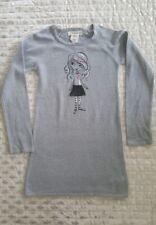 If it were me grey knitted long sleeve Girls Dress sz 7-8