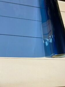 """Med. Blue Colored Window Film Clear Decorative Glass Tint NON Reflective 20""""X10'"""