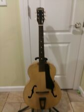 VINTAGE PLAYTIME GUITAR BY HARMONY ACOUSTIC ARCHTOP
