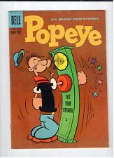 Dell POPEYE #52 March April 1960 vintage comic VG condition