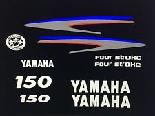 Yamaha Outboard Motor Decal Kit 150 HP 4 Stroke Kit -  MARINE VINYL