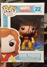 MARVEL Stan Lee firmado FUNKO POP Vinilo Figura Dark Phoenix 22 retirado raro duro