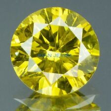 Loose Round Cut 7.00mm 1ct VVS1- Canary Yellow Brilliant Lab Diamond Solitaire