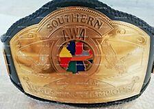AWA Southern Tag Team Heavyweight Wrestling Title Replica Championship Belt