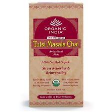 Organic India Tulsi Masala Chai Tea 100gm with Free Shipping Worldwide