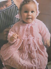 baby knitting pattern jumper 0 years to 3 months 3 ply